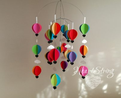 Hot Air Balloon Mobile Juicy Brights